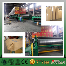 new condition best preformance carton box paper making machines, kraft paper production line