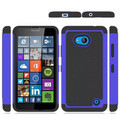Popular Selling Ball Pattern TPU+PC Hybrid Phone Case for Nokia Lumia 640