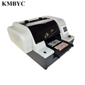 8-color UV led flatbed printing machine BYC168-A4 for cloth with best factory price