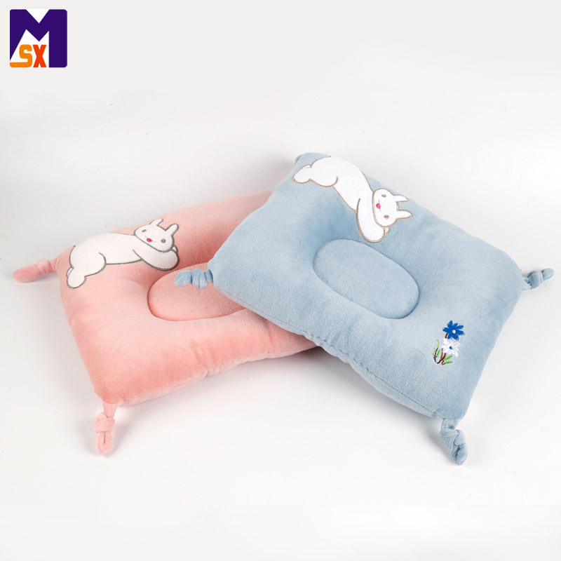 ICTI china factory super soft stuffed pillow pink custom plush pillow