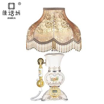 2014 NEW DESIGN luxury table lamp with telephone for bed room gift