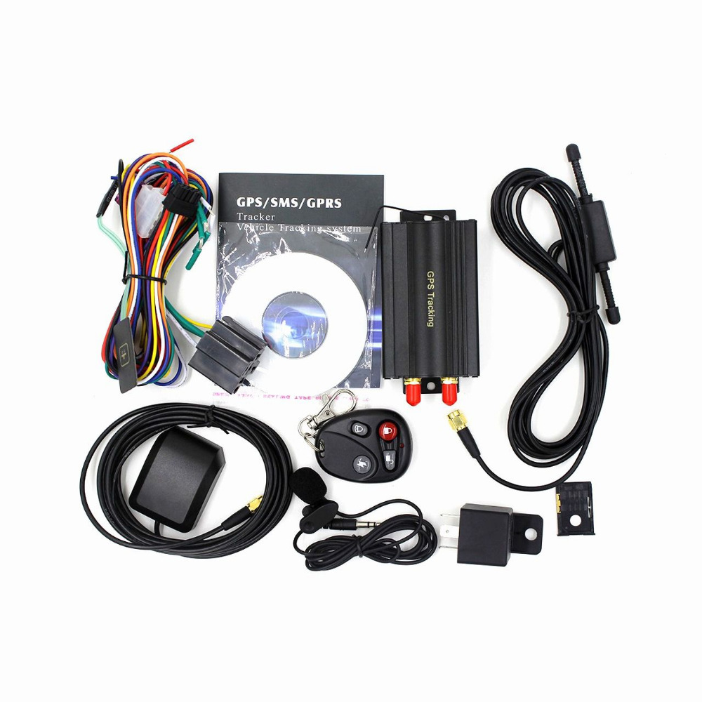 better than vt600 gps vehicle car tracker TK103B