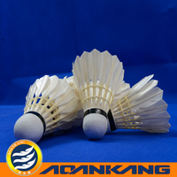 best goose badminton shuttlecock in anhui/top quality feathers for sale cheap/shuttlecock badminton