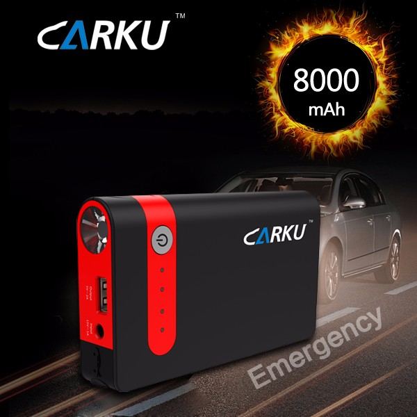 Carku jump starter 12v mini battery booster for3.0L Gasoline car