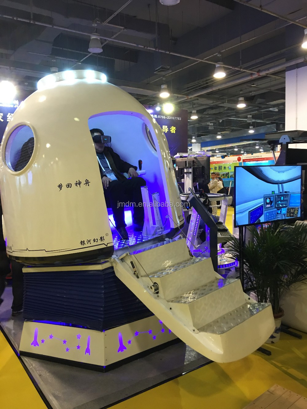 9D virtual reality aeospaceship simulator 9d vr VR spaceship capsule 360 vr cinema
