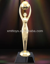 custom metal high quality and competitive price figurine replica trophy trophy award trophy