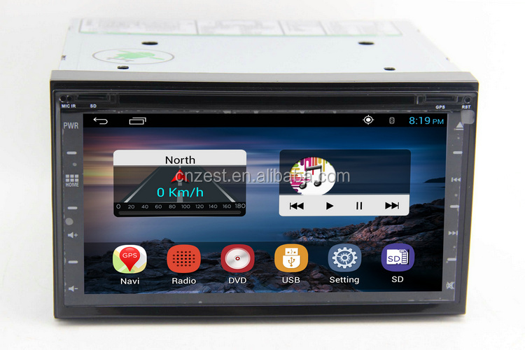 6.95inch android car multimedia for universal car with gps dvd player WiFi BT 3G auto radio stereo system