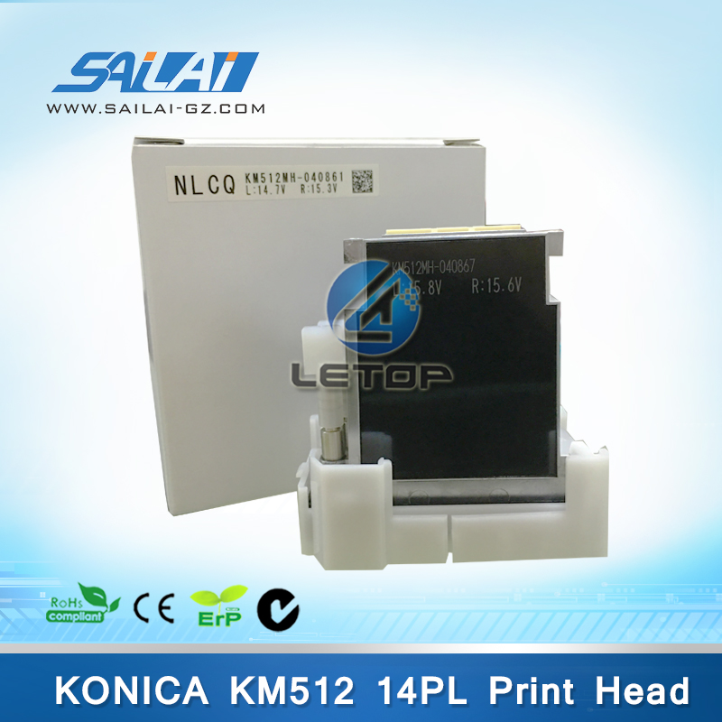 Hight quality!!!Original eco solvent konica printhead KM512MN 14pl piezo print head