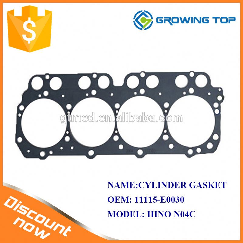 Factory Price OEM 11115-E0030 Integra Head Gasket for hino N04C