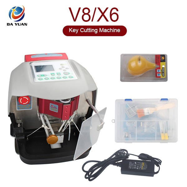 Polular Automatic V8/X6 Key Cutting Machine With Free V2013 Database key cutter V8 X6 LS04002