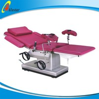 ALS-OB111 Hospital gynecological theatre equipment operation table