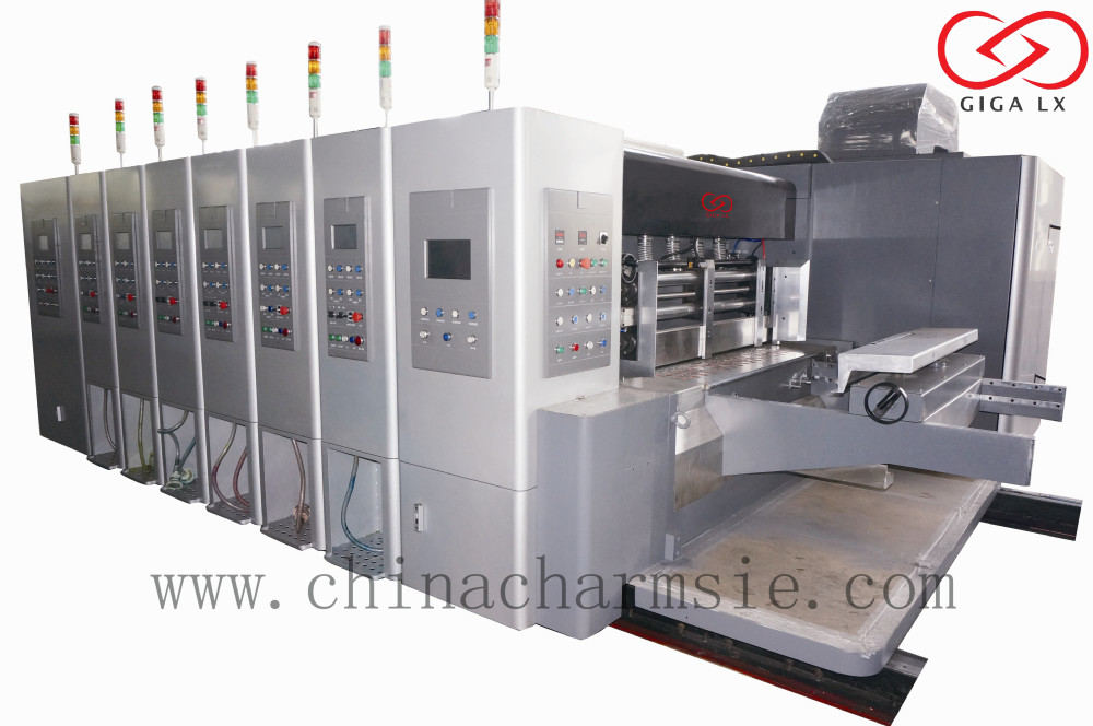 LX-608CN Full Computerized High Speed Carton Slitter Scorer Machine
