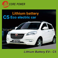 Official electric car with Lithium battery 180km high speed long distance electric vehicle
