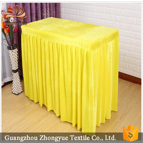 Colorful warm tablecloth plain table cloths for banquet