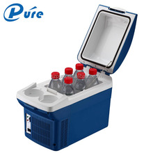 Electric Mini Cooler 8L Mini Fridge Heater&Cooler China Supplier Mini Freezer Dual Use DC/AC Fridge