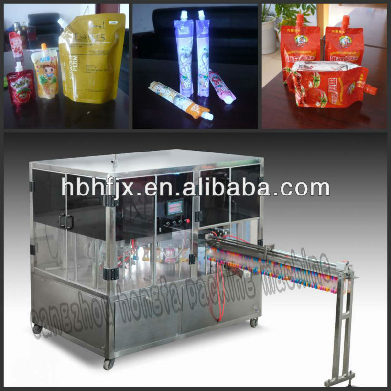 Vitamins for kids in doypack bag or stand up pouch/sachet/bag with spout/cover filling capping packing machine factory