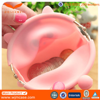 2015 new design item of silicone cheap animal coin purse