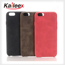 New Arrival Good Pu Back Cover For iPhone 6S Pu Case Leather