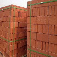 Cheap Square paving brick 200*100*50mm good quality paving clay tile China factory supplier Clay flooring brick