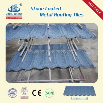 colorful stone coated china roofing tiles