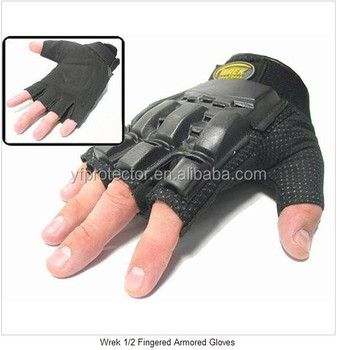 Wholesale military surplus army half finger tactical gear gloves