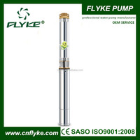 multiple impeller structure high lift electric deep well submersible water pump