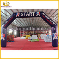 Cheap Inflatable Start Finish Line Sports Arch For Sale ,Outdoor Advertising Inflatable Arch