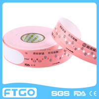 medical consumables hospital id hand band / medical id wristband/ patient id bracelet T6