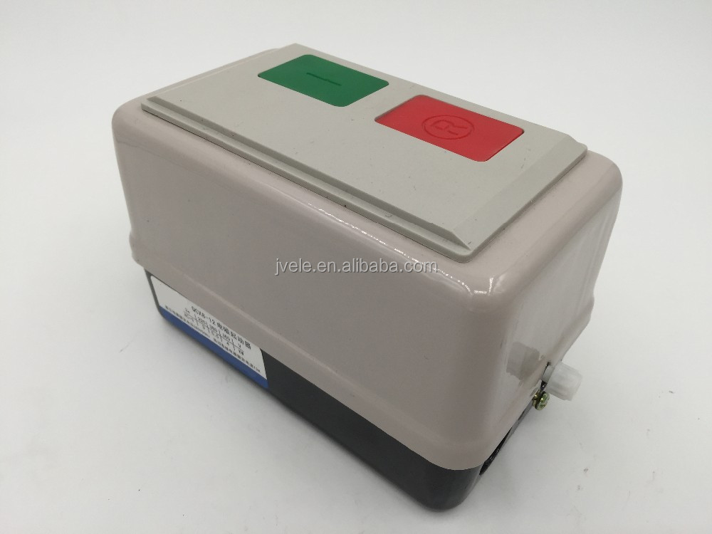 IP65 Steel MSB-12 QCX8 Electric Magnetic Motor Starter