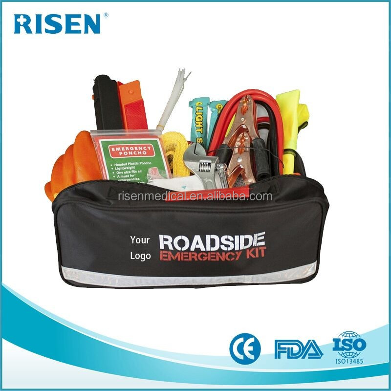 2017 New Products Car Detailing Bags Car Emergency Kit Roadside Emergency Kit