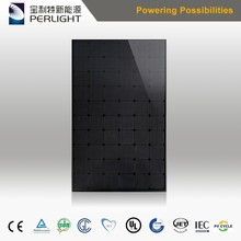 Perlight All Black PV Mono Solar Panel 270W 280W Solar Module with IEC Certifications