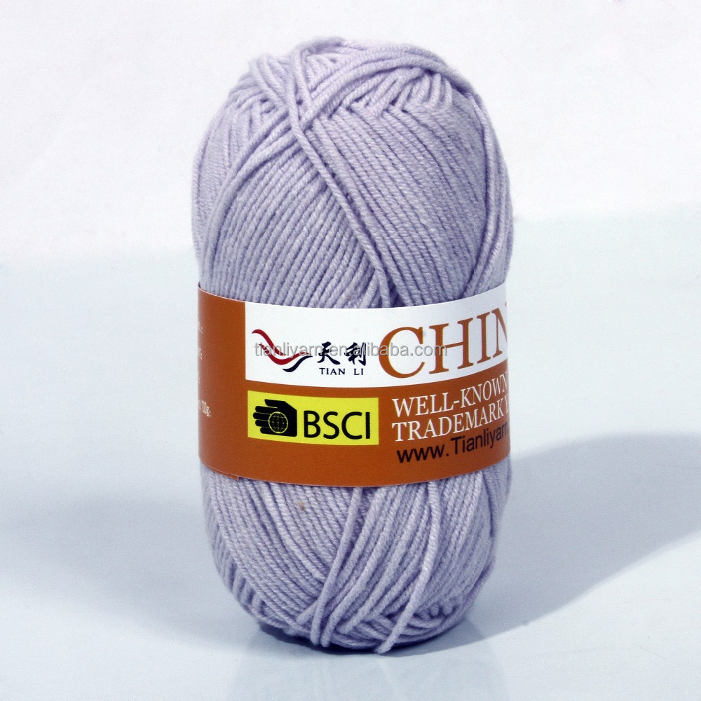 Knitting Yarn Crochet Yarn - Buy Cotton Blend Hand Yarn,Crochet Yarn ...