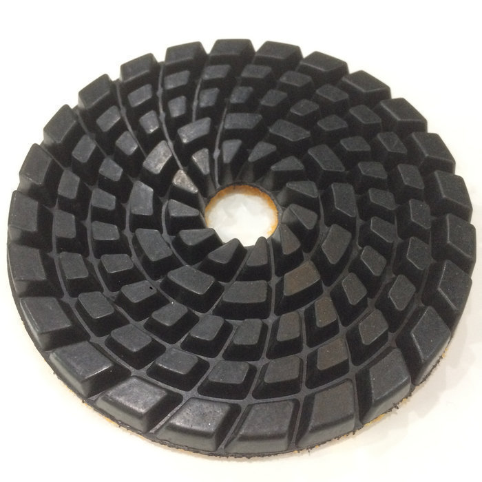 "4"" Diamond Granite wet dry Polishing Pads for granite Marble Concrete Stone Granite Tile Polishing"