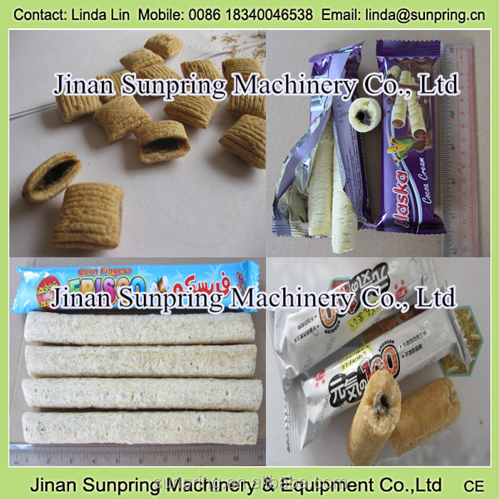 Best selling Core filling snack food processing line CHOCOLATE CREAM EGG YOLK CORE FILLING SNACK