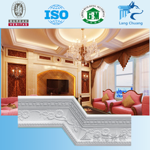 2016 Shanghai Yinqiao New Design Plaster Gypsum Cornice Moulding