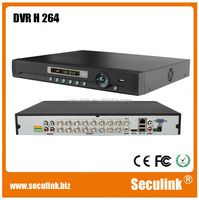 H.264 stand alone DVR with DVD recorder,16ch network dvr