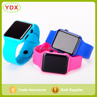 Wholesale Top Selling Fashion Silicone Touch Screen LED Watch