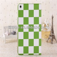 Hot sell cross pattern casing for ipad mini2 case