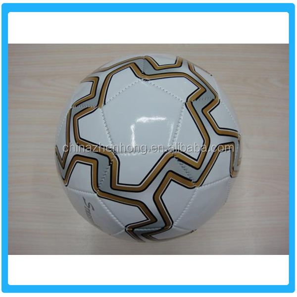 Alibaba Promotional Design PVC Football/Soccer,Customized Plastic Football
