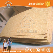 Poplar Main Material and OSB Plywood Type 11mm osb3