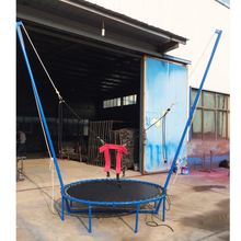 Latest Arrival Park Popular Kids Hanging Square Mini Gymnastics Trampolines For Sale