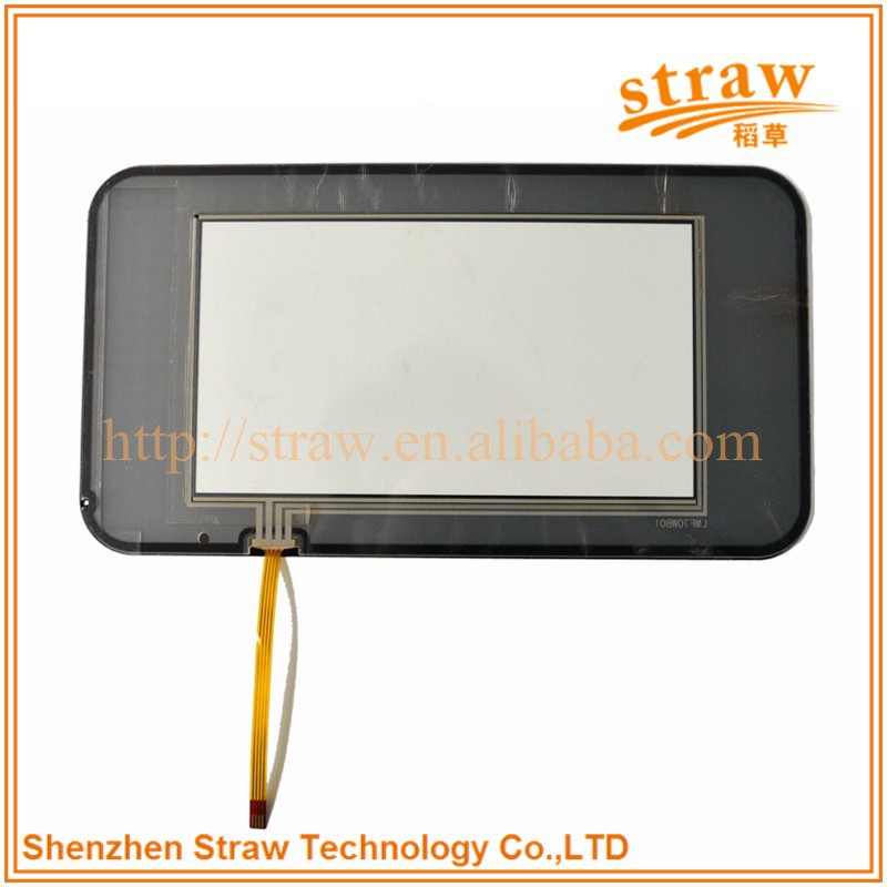 Best Quality 6.5 Inch Resistive Touch Screen Digitizer for Vehicle-mounted Products