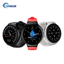 IPS Touch screen Round Android Smart Watch with GPS Watch Phone Android 3G Bluetooth Smartwatch