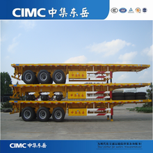 CIMC Tri-axle Trailer Truck 40 Tons For Sale
