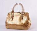 crocodile fuscus tote bag_ alligator croco handbags- crocodile belly bag_ golden crocodile hobo