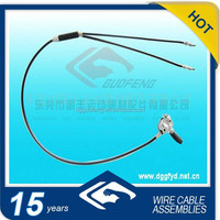 guofeng made adjustable front brake cable /motorcycle brake cable parts