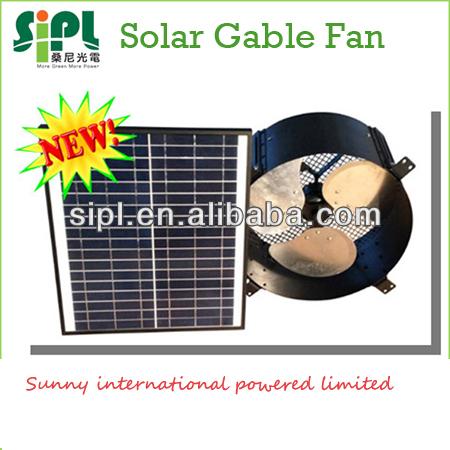 Solar panel generator 12 inch 12 watt wall mounted exhaust for 12 inch window exhaust fan