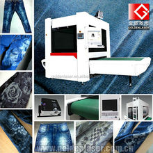 Galvo Laser Engraving System for Denim Jeans Whiskers, Monkeys,Washing,Worn Effect