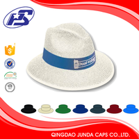soft plain 3D embroidery organza hat