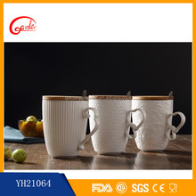 New style ceramic coffee mug with cover